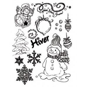 Зима и Новый год Штампы для скрапбукинга, кардмейкинга Stamperia