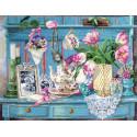Цветочный уголок Набор для вышивания Марья Искусница 11.004.15