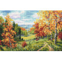 Пора очарования Набор для вышивания Многоцветница МКН 57-14