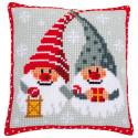 Рождественские гномы Набор для вышивания подушки Vervaco PN-0171685