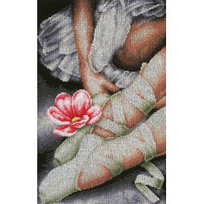 My little ballerina shoes Набор для вышивания LanArte PN-0157513