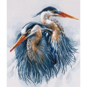 Great blue herons Набор для вышивания LanArte PN-0185890