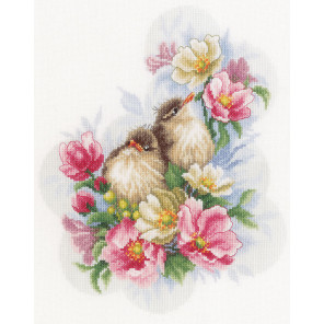 Flower branch guardians Набор для вышивания LanArte PN-0185003