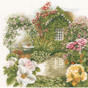 Rose Garden Набор для вышивания LanArte PN-0008019