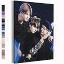Bangtan Boys / BTS Корейская K-POP группа Раскраска картина по номерам на холсте AAAA-RS356