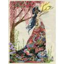 Королева шелка Набор для вышивания Design works 2935
