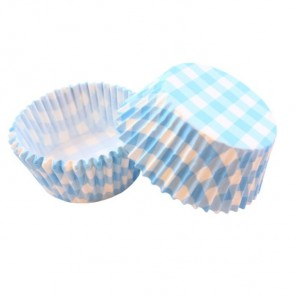 Клетка голубая Набор бумажных форм для кексов Dolce Arti
