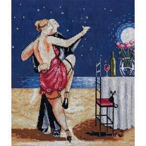 Танго в ночи Набор для вышивания Design works 2856