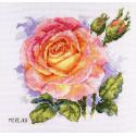 Роза Набор для вышивания Merejka K-138