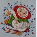 С гусем Набор для вышивания Merejka K-12