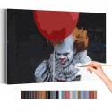Клоун / Оно Раскраска картина по номерам на холсте AAAA-RS336