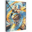 Аватар Аниме 100х125 см Раскраска картина по номерам на холсте с неоновой краской AAAA-ANI004-100x125