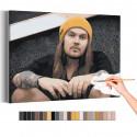Нико Вильхельм / Blind Channel Раскраска картина по номерам на холсте AAAA-RS255