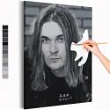Йоэль Хокка / Blind Channel черно-белый Раскраска картина по номерам на холсте AAAA-RS161