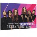Blind Channel / Violent Pop 100х150 см Раскраска картина по номерам на холсте с неоновой краской AAAA-RS340-100x150