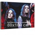 Нико Вильхельм и Йоэль Хокка / Blind Channel 80х100 см Раскраска картина по номерам на холсте с неоновой краской AAAA-RS358-80x