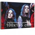 Нико Вильхельм и Йоэль Хокка / Blind Channel 100х125 см Раскраска картина по номерам на холсте с неоновой краской AAAA-RS358-10