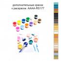 Дополнительные краски для раскраски 40х50 см AAAA-RS177