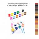 Дополнительные краски для раскраски 40х60 см AAAA-RS341