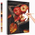 Сочные яблоки Раскраска картина по номерам на холсте AAAA-RS341