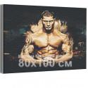 Дейв Батиста / Спорт 80х100 см Раскраска картина по номерам на холсте AAAA-RS185-80x100