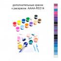 Дополнительные краски для раскраски 40х40 см AAAA-RS314