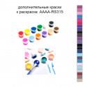 Дополнительные краски для раскраски 40х40 см AAAA-RS315