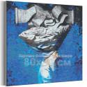 Мудрец 80х80 см Раскраска картина по номерам на холсте AAAA-RS093-80x80