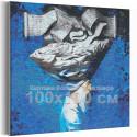 Мудрец 100х100 см Раскраска картина по номерам на холсте AAAA-RS093-100x100