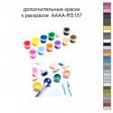 Дополнительные краски для раскраски 30х40 см AAAA-RS157
