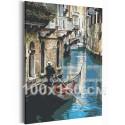 Прогулка по Венеции / Италия 100х150 см Раскраска картина по номерам на холсте AAAA-RS203-100x150