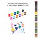 Дополнительные краски для раскраски 40х50 см AAAA-RS268