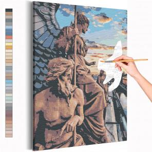 Канал Грибоедова / Каменные стражи Санкт-Петербурга Раскраска картина по номерам на холсте AAAA-RS275