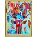 Дерево желаний Алмазная картина фигурными стразами Color Kit FM003