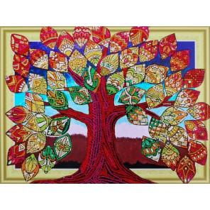 Дерево счастья Алмазная картина фигурными стразами Color Kit FM005