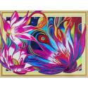 Сказочные лотосы Алмазная картина фигурными стразами Color Kit FM007
