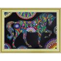 Цирковая лошадь Алмазная картина фигурными стразами Color Kit FM010