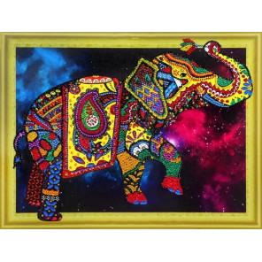 Созвездие слона Алмазная картина фигурными стразами Color Kit FM012