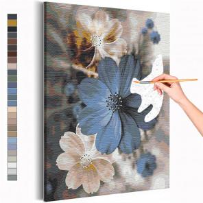 Доброе утро / Цветы Раскраска картина по номерам на холсте с металлической краской AAAA-RS233