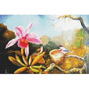 Щебетание птиц Алмазная вышивка (мозаика) Sddi Anya