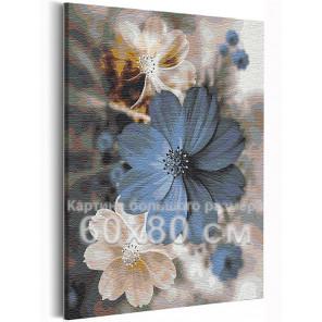 Доброе утро / Цветы 60х80 см Раскраска картина по номерам на холсте с металлической краской AAAA-RS233-60x80