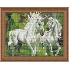 Единороги Алмазная вышивка мозаика Color Kit TSGJ1051