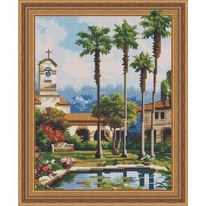 Восточный пейзаж Алмазная вышивка мозаика Color Kit TSGJ1096