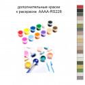 Дополнительные краски для раскраски 40х50 см AAAA-RS228