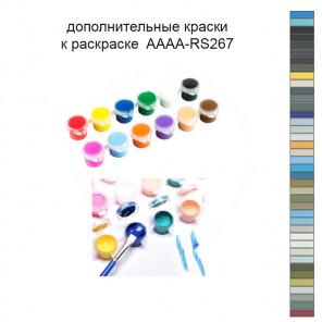Дополнительные краски для раскраски 40х50 см AAAA-RS267