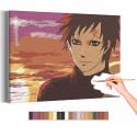 Гаара / Наруто Аниме Раскраска картина по номерам на холсте AAAA-ANI028