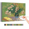 Натюрморт с олеандром Винсент Ван Гог / Известные картины Раскраска картина по номерам на холсте AAAA-RS269