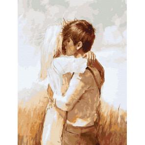 Влюбленные Картина по номерам Molly KK0689