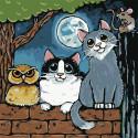 Веселая компания Картина по номерам Molly KH1089