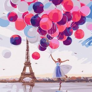 Воздушное настроение Картина по номерам Molly KH1092